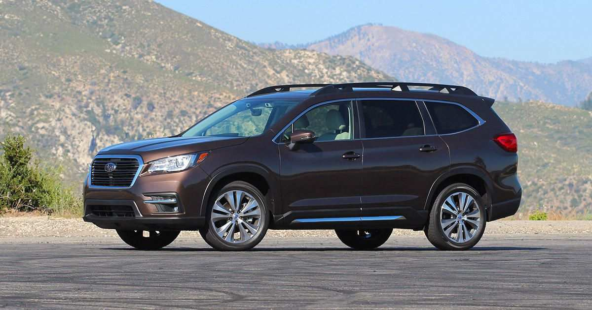 58 Gallery of 2019 Subaru Ascent Release Date Performance with 2019 Subaru Ascent Release Date