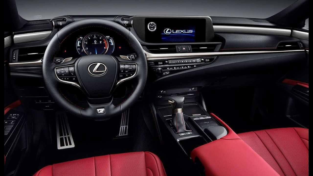 58 New 2019 Lexus Es Interior Spy Shoot by 2019 Lexus Es Interior