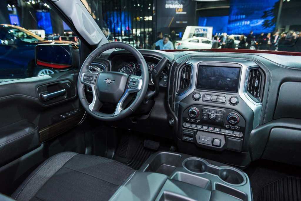 58 The 2019 Gmc 1500 Interior Spy Shoot for 2019 Gmc 1500 Interior
