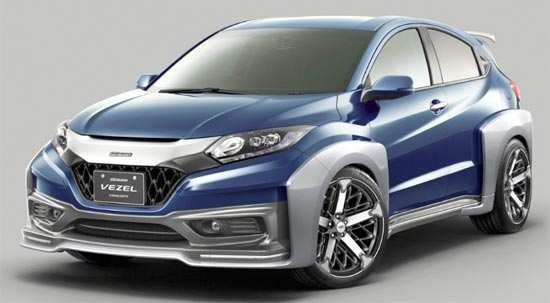 59 Best Review 2020 Honda Vezel Concept by 2020 Honda Vezel