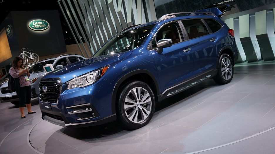 59 Concept of 2019 Subaru Ascent Debut Price by 2019 Subaru Ascent Debut