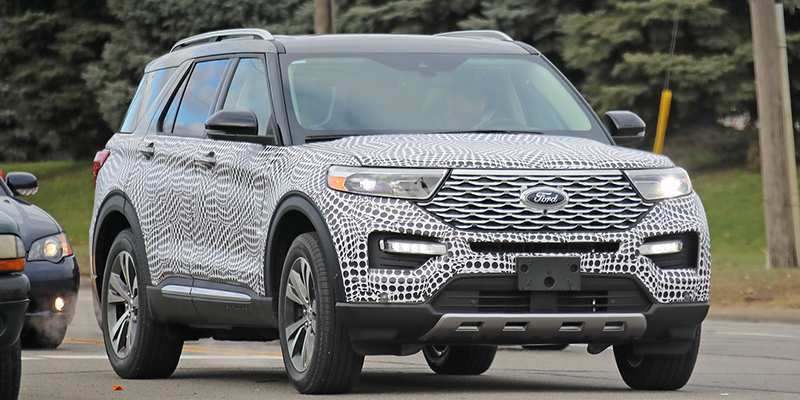 59 Concept of 2020 Ford Explorer Design Research New by 2020 Ford Explorer Design