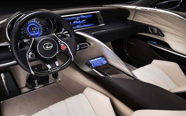 59 Gallery of 2019 Lexus Lc F Review for 2019 Lexus Lc F
