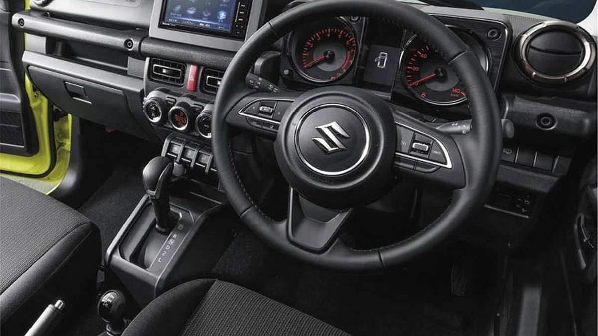 59 Gallery of Suzuki Jimny 2019 Interior Price and Review for Suzuki Jimny 2019 Interior