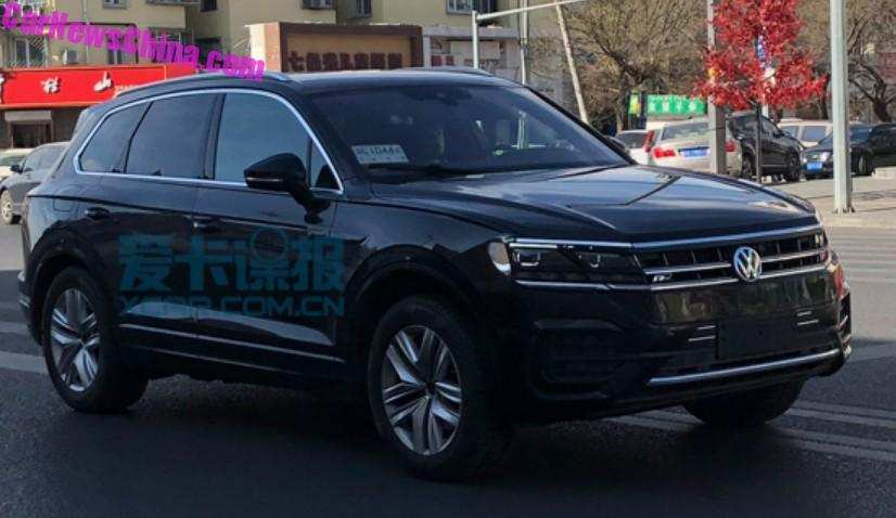 59 Great 2019 Volkswagen Touareg Research New by 2019 Volkswagen Touareg