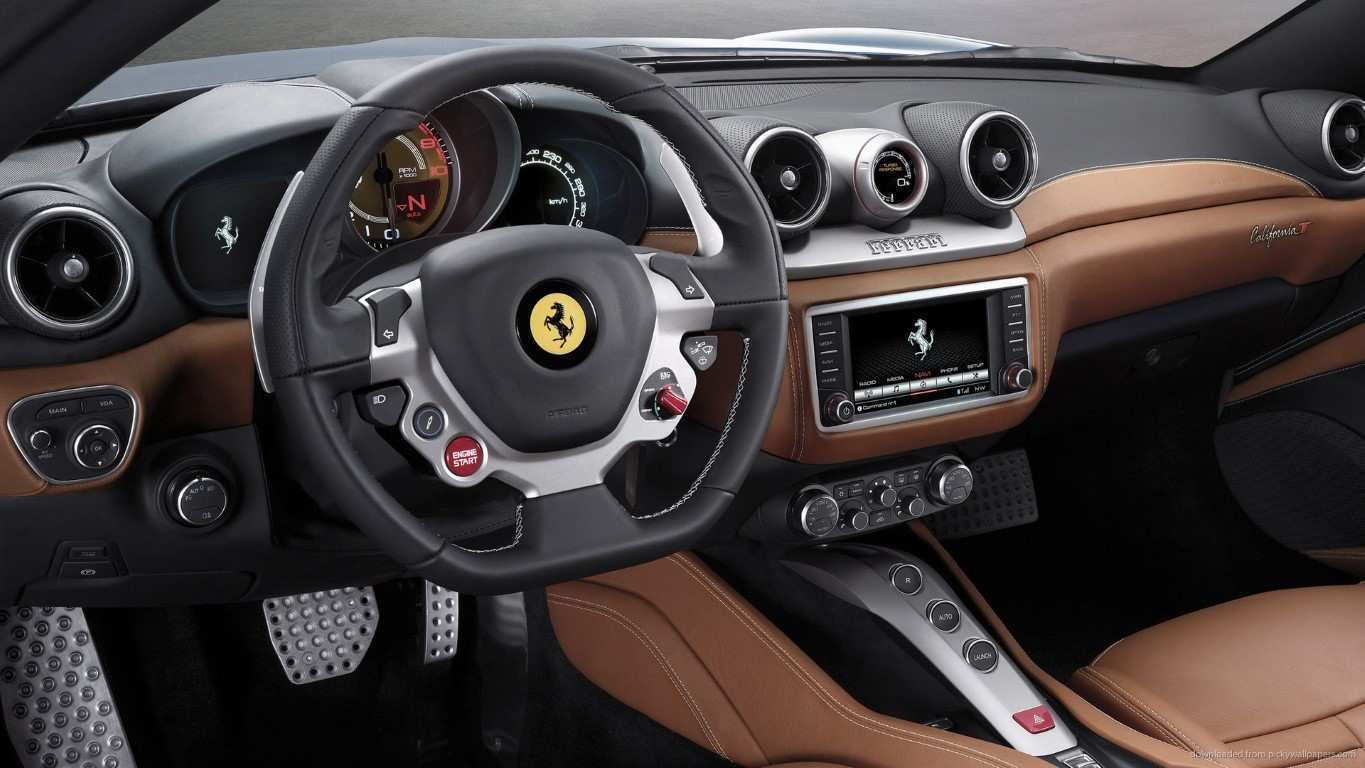 59 New 2019 Ferrari Interior Redesign and Concept with 2019 Ferrari Interior