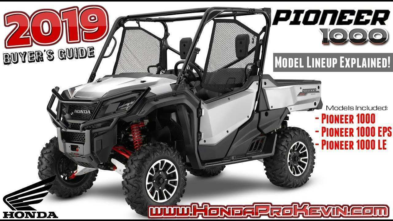 59 The 2019 Honda Pioneer 500 Research New with 2019 Honda Pioneer 500