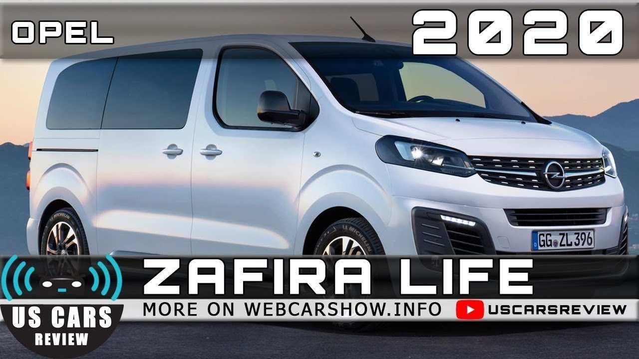 60 Gallery of Opel Zafira 2020 Rumors with Opel Zafira 2020