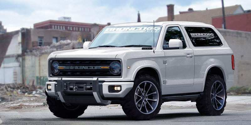 60 The 2019 Ford Bronco Gas Mileage Exterior and Interior for 2019 Ford Bronco Gas Mileage