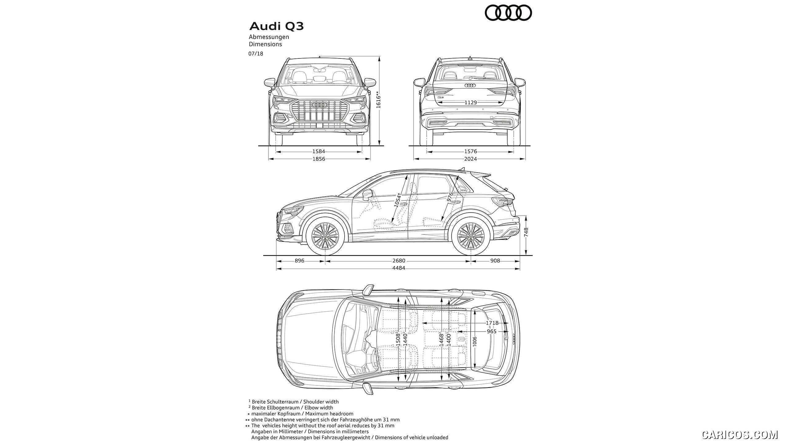 61 Concept of 2019 Audi Q3 Dimensions Research New by 2019 Audi Q3 Dimensions