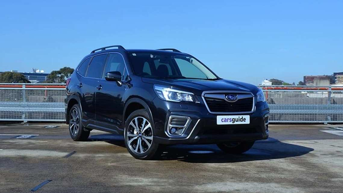 61 Concept of 2019 Subaru Forester Debut Images with 2019 Subaru Forester Debut