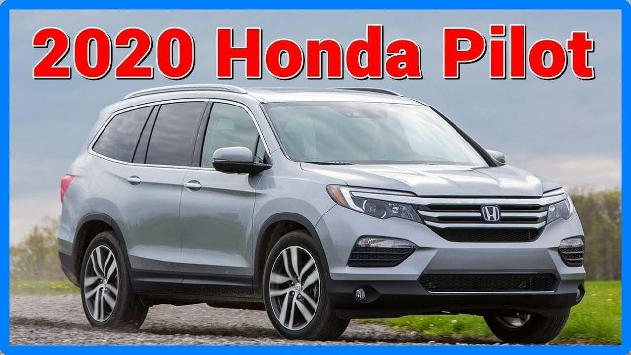 61 Gallery of 2020 Honda Pilot Release Date Redesign and Concept with 2020 Honda Pilot Release Date