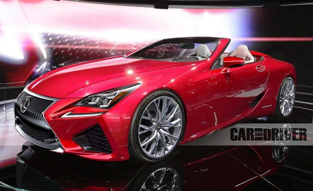 61 Great 2019 Lexus Convertible New Concept by 2019 Lexus Convertible