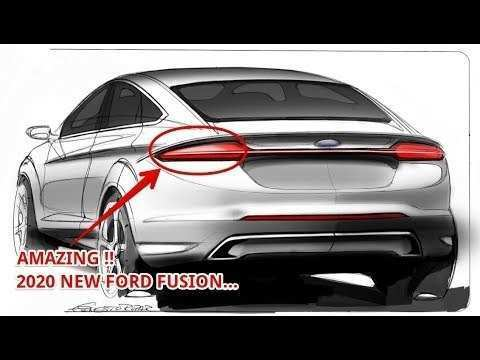 61 Great 2020 Ford Fusion Redesign Redesign with 2020 Ford Fusion Redesign