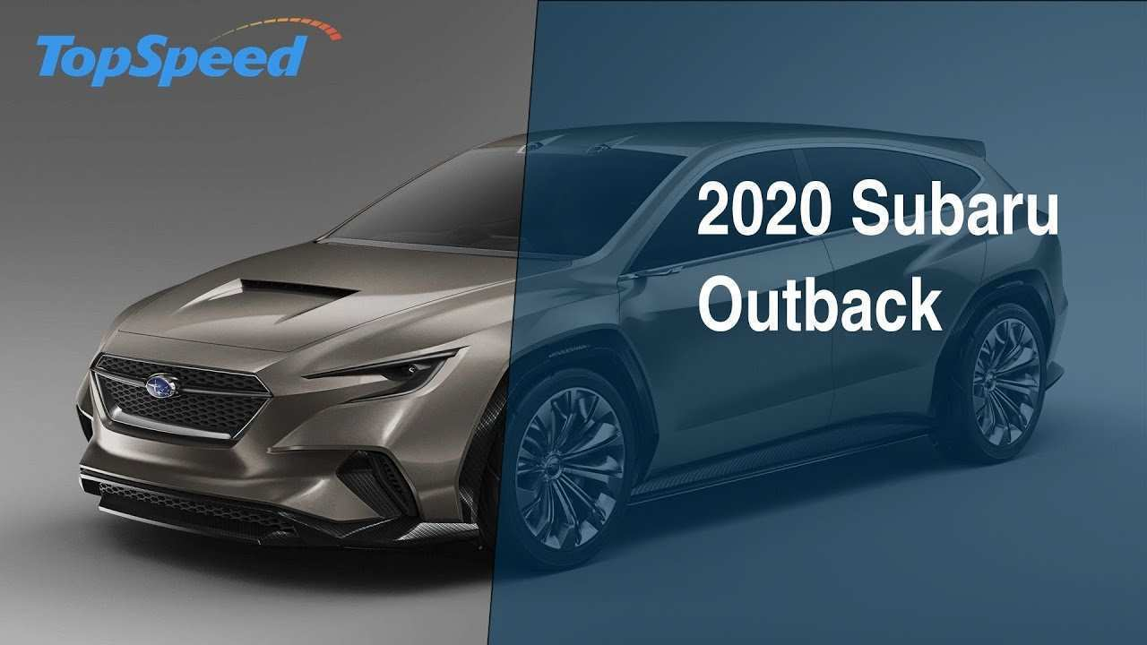 61 New 2020 Subaru Outback Concept Spesification with 2020 Subaru Outback Concept