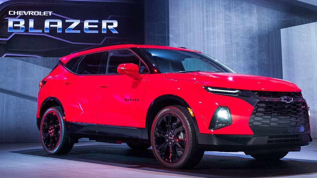 61 The 2019 Chevrolet Blazer Release Date Interior for 2019 Chevrolet Blazer Release Date