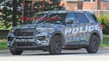 62 All New 2019 Ford Police Utility Exterior by 2019 Ford Police Utility