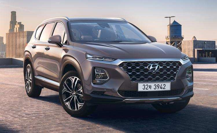 62 All New 2019 Hyundai Santa Fe Sport Redesign Spy Shoot by 2019 Hyundai Santa Fe Sport Redesign