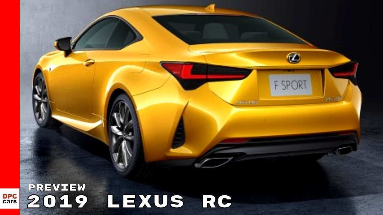 62 Concept of 2019 Lexus Rc Photos with 2019 Lexus Rc