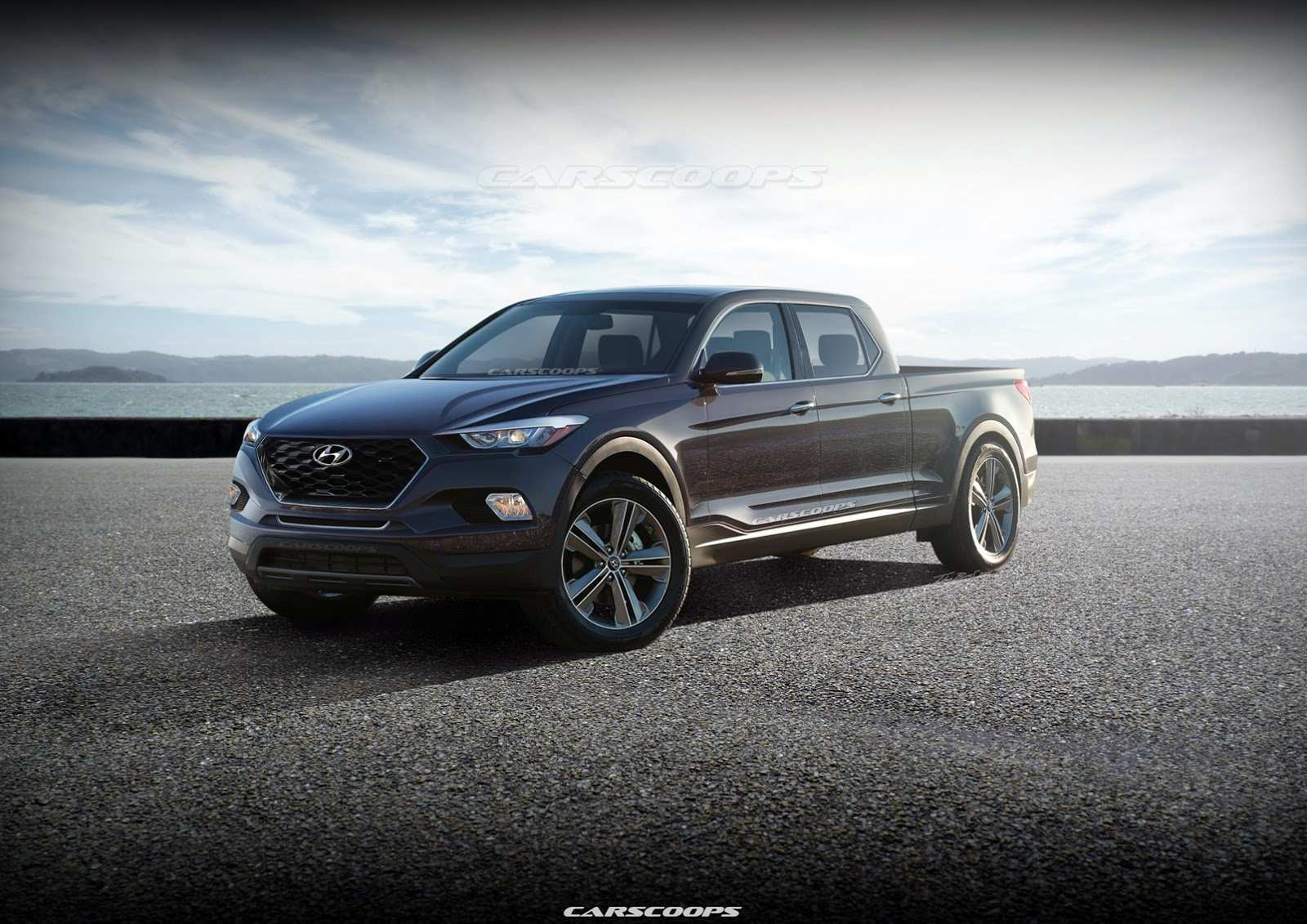 62 Gallery of 2019 Hyundai Santa Cruz Pickup Redesign and Concept by 2019 Hyundai Santa Cruz Pickup