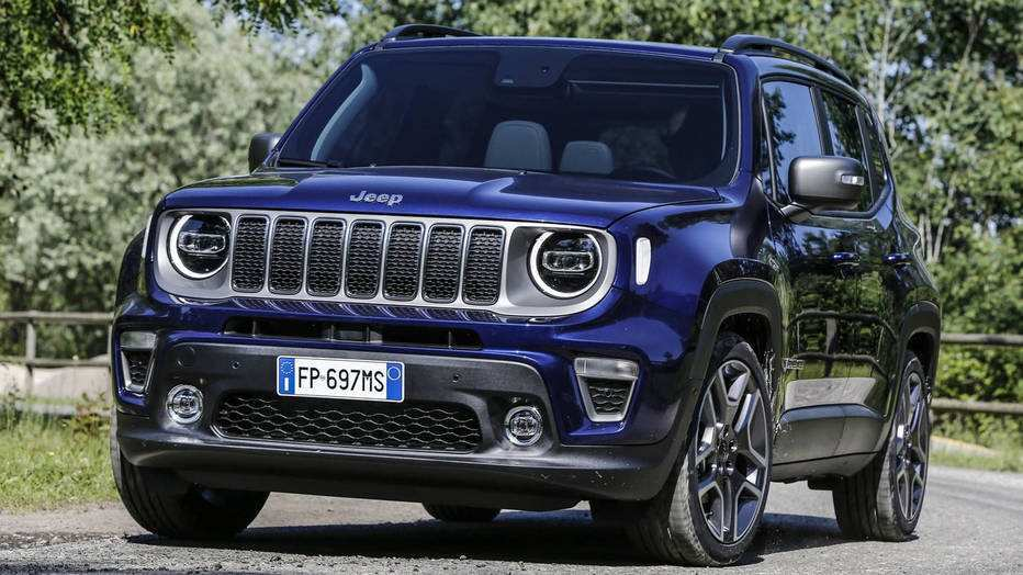 62 Gallery of 2019 Jeep Renegade Review Interior for 2019 Jeep Renegade Review