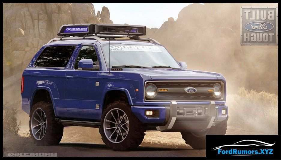 62 Great New 2020 Ford Bronco Specs Pricing with New 2020 Ford Bronco Specs