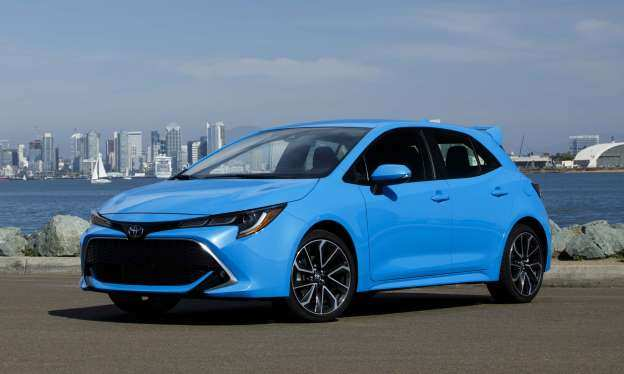 62 The 2019 Toyota Corolla Hatchback New Concept by 2019 Toyota Corolla Hatchback