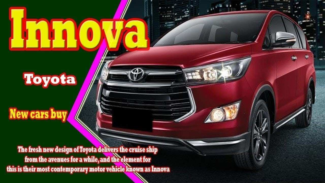 63 Best Review Toyota Innova 2019 Release for Toyota Innova 2019
