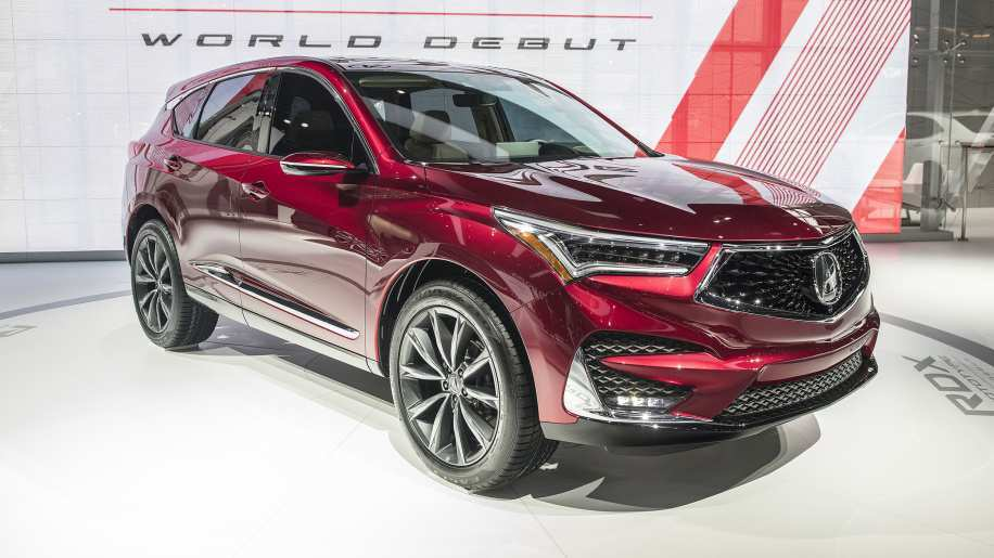 63 Gallery of 2019 Acura Rdx Prototype Photos with 2019 Acura Rdx Prototype