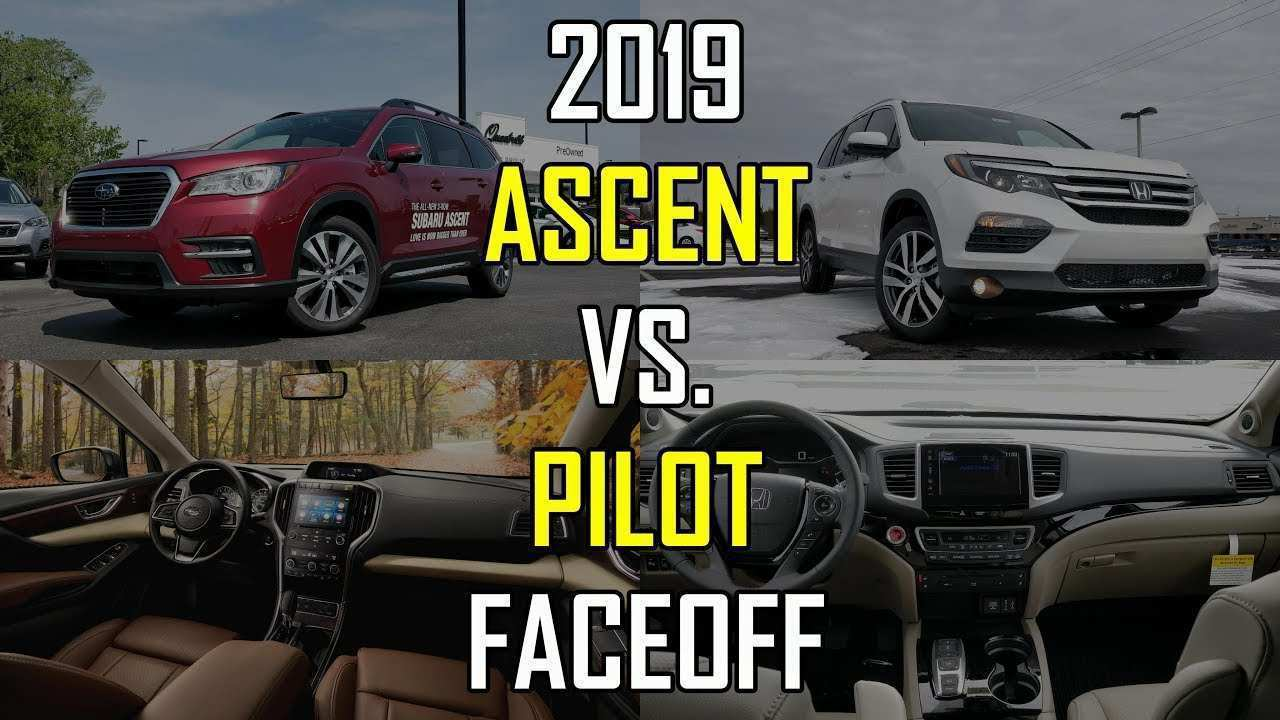 63 Gallery of 2019 Subaru Ascent Vs Honda Pilot Vs Toyota Highlander Spy Shoot with 2019 Subaru Ascent Vs Honda Pilot Vs Toyota Highlander