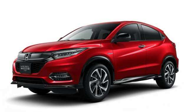 63 The 2019 Honda Vezel Specs and Review with 2019 Honda Vezel