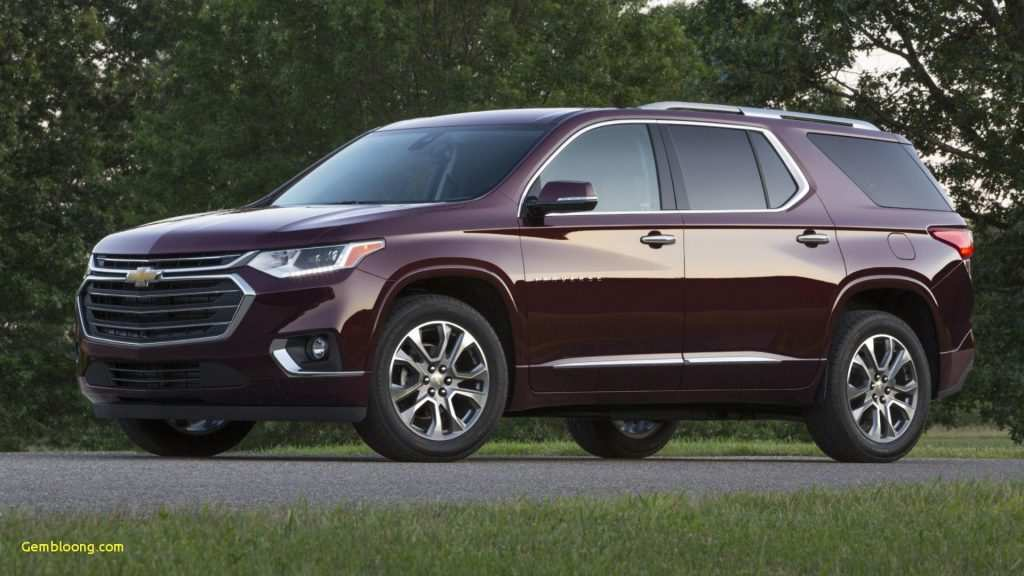 64 All New 2020 Chevrolet Traverse Research New by 2020 Chevrolet Traverse