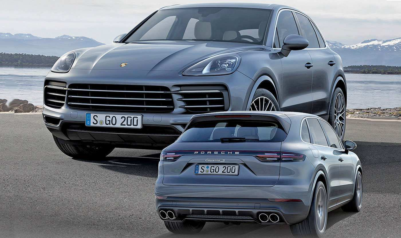 64 Great 2018 Vs 2019 Porsche Cayenne Overview with 2018 Vs 2019 Porsche Cayenne