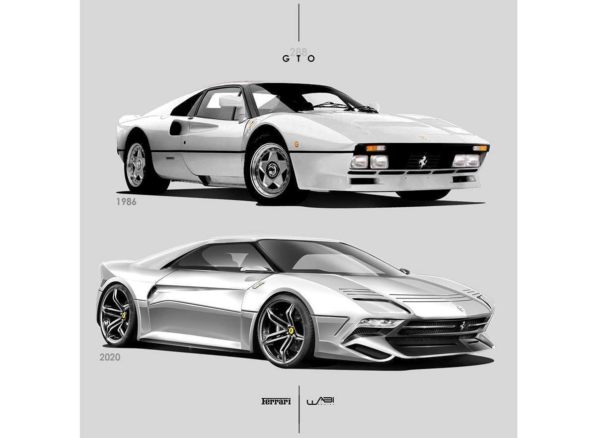 64 Great 2020 Ferrari 288 Gto Concept with 2020 Ferrari 288 Gto
