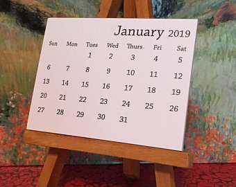 65 Best Review 2019 Mini Tear Off Calendar New Concept with 2019 Mini Tear Off Calendar
