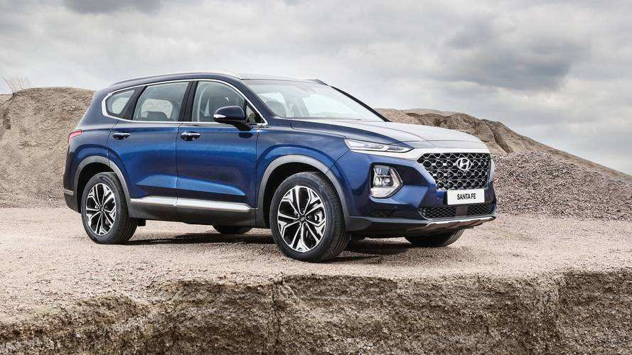 65 Great 2019 Hyundai Santa Fe Engine Concept by 2019 Hyundai Santa Fe Engine