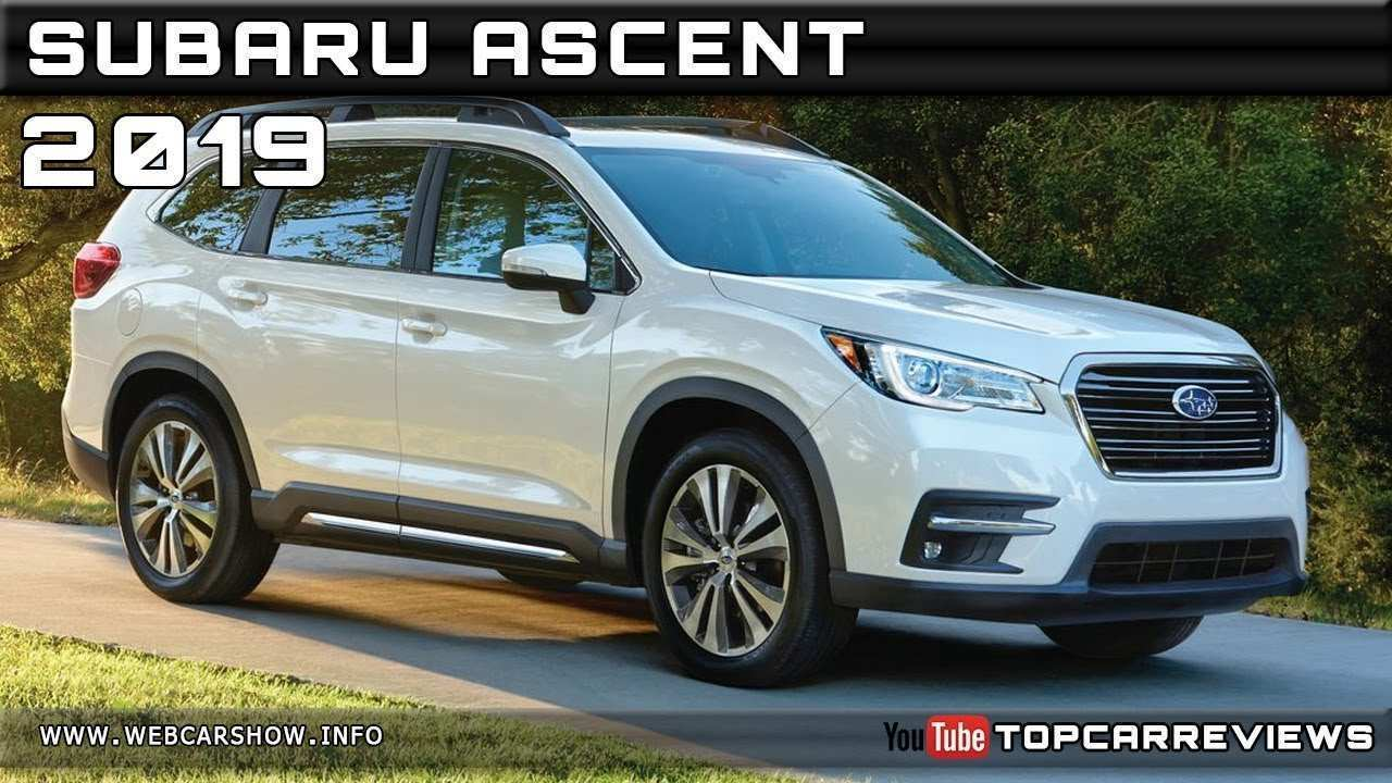 66 Concept of 2019 Subaru Ascent Release Date Performance and New Engine with 2019 Subaru Ascent Release Date