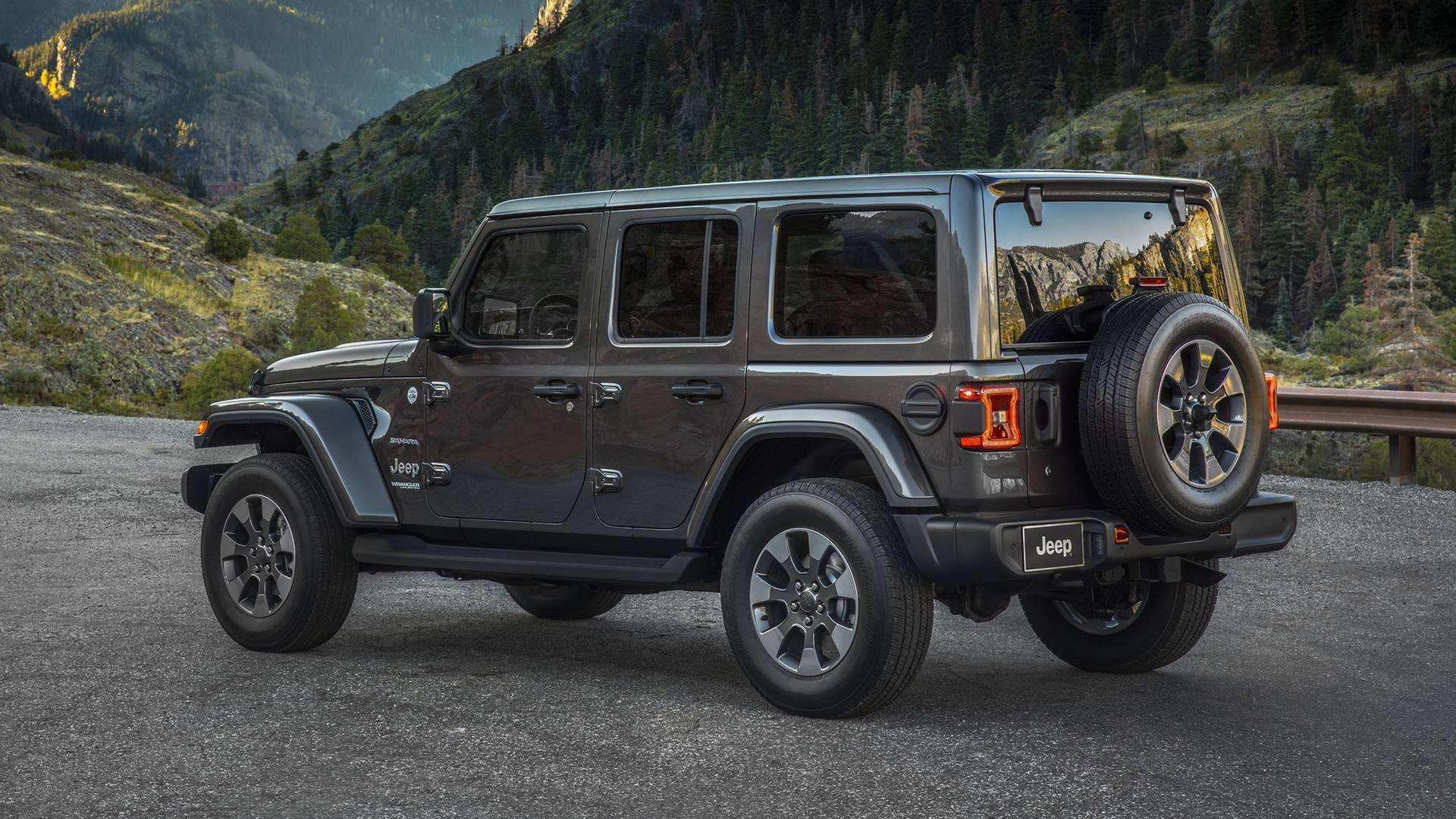 66 The 2019 Jeep Wrangler Jl Spy Shoot for 2019 Jeep Wrangler Jl