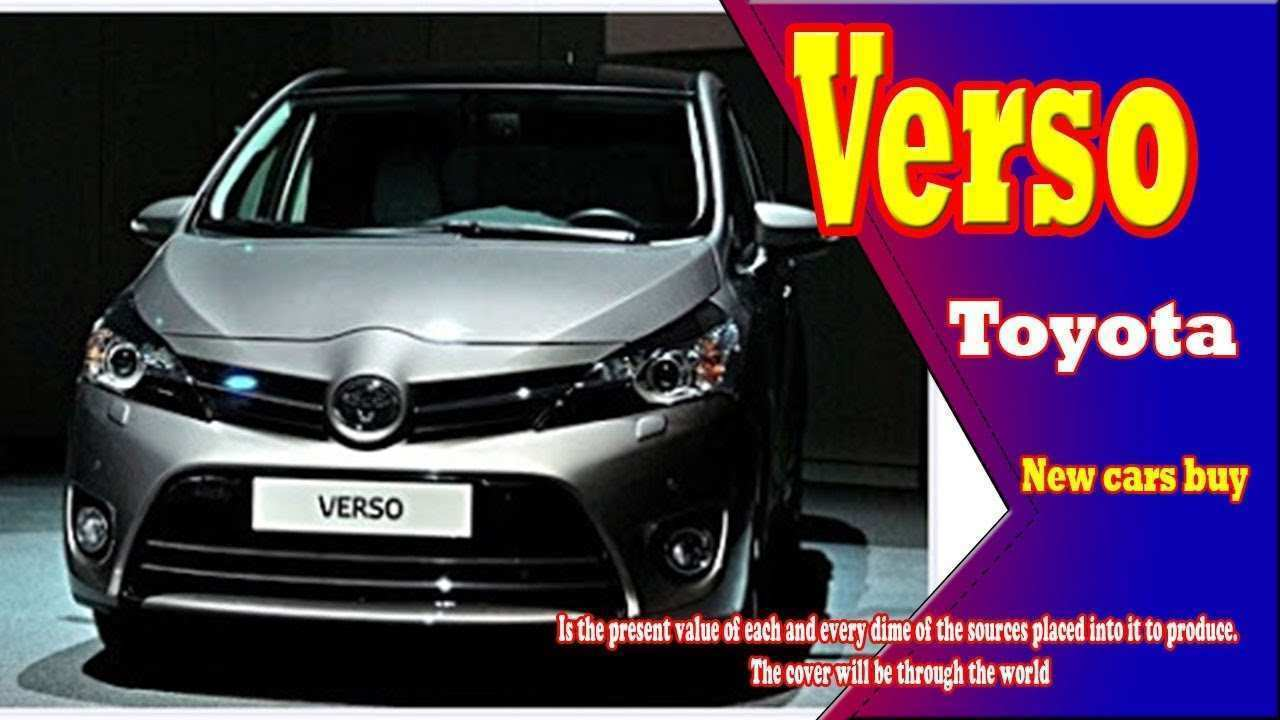 66 The 2019 Toyota Verso Price and Review with 2019 Toyota Verso