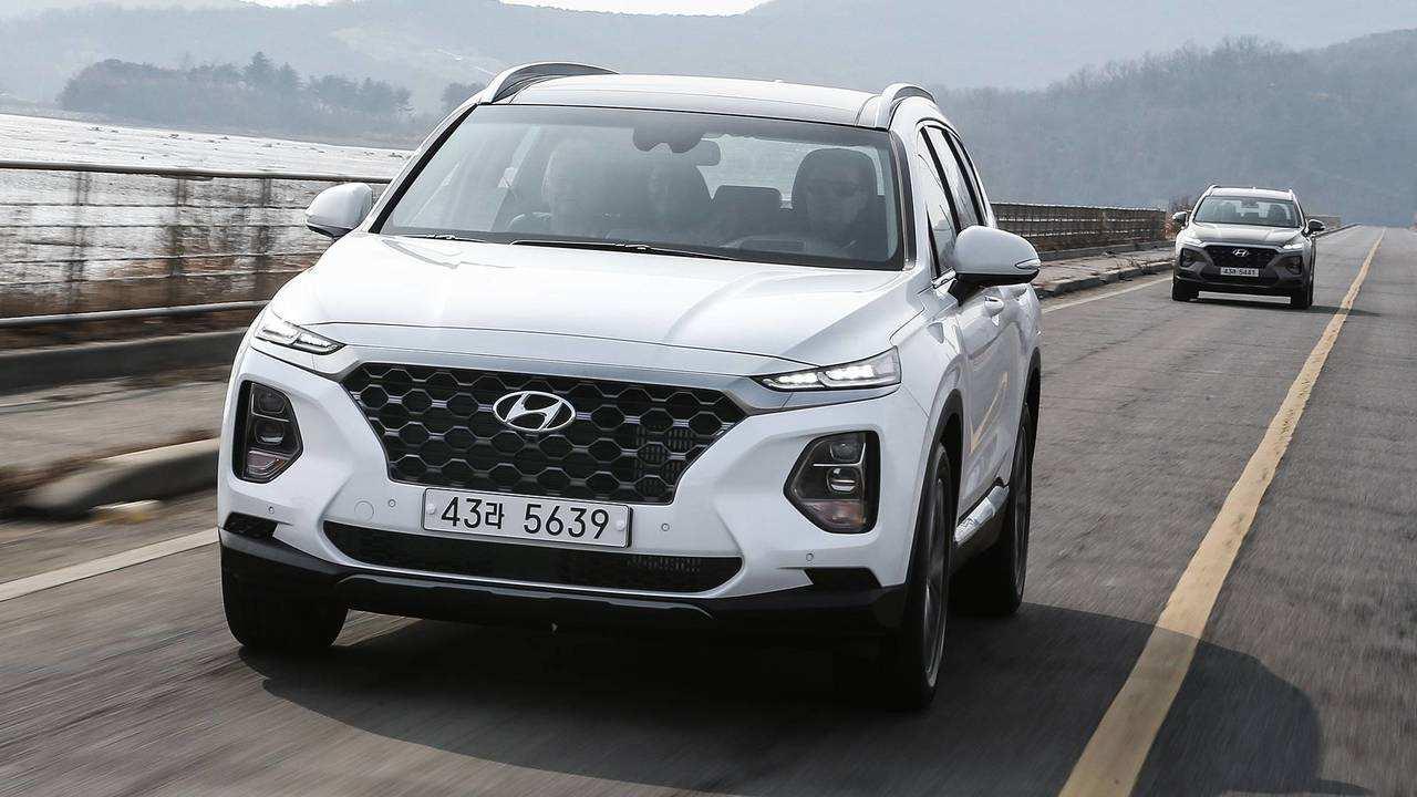 68 All New 2019 Hyundai Santa Fe Test Drive Images with 2019 Hyundai Santa Fe Test Drive