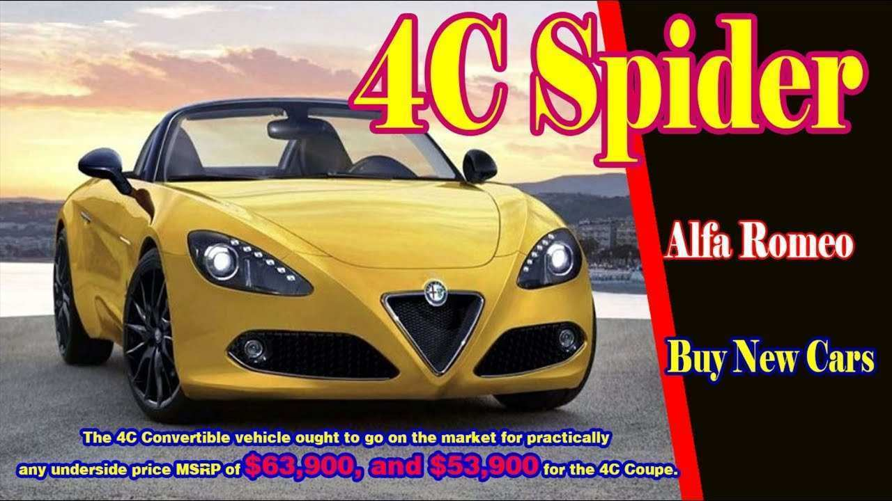 68 Best Review Alfa Spider 2019 First Drive for Alfa Spider 2019