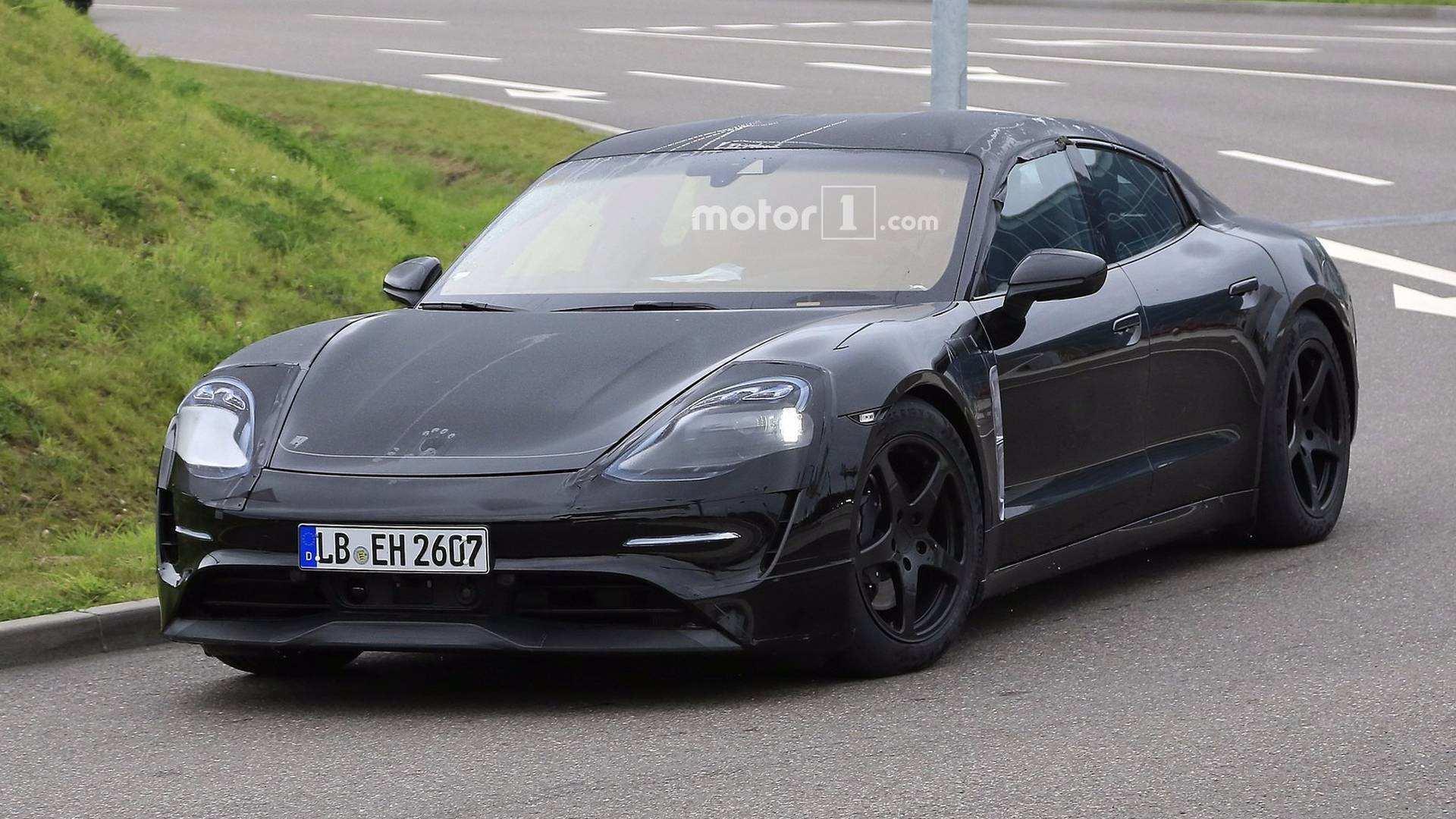 68 Great 2020 Porsche Mission E Electric Sedan Spied Testing Alongside Teslas Spesification by 2020 Porsche Mission E Electric Sedan Spied Testing Alongside Teslas