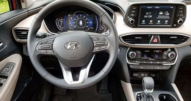 68 New 2019 Hyundai Santa Fe Interior Reviews with 2019 Hyundai Santa Fe Interior