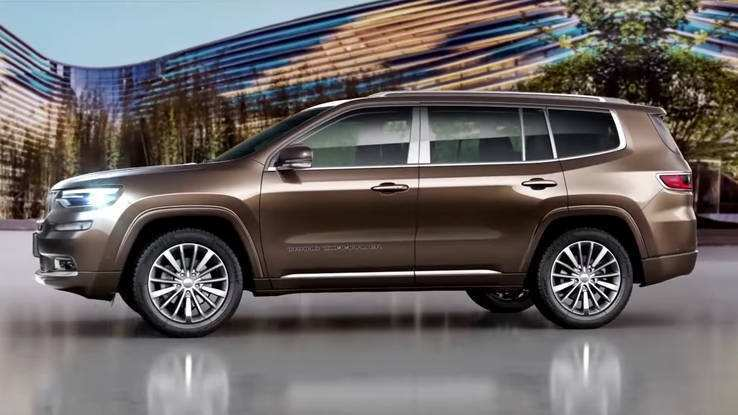 68 The 2019 Jeep Grand Wagoneer Specs and Review by 2019 Jeep Grand Wagoneer