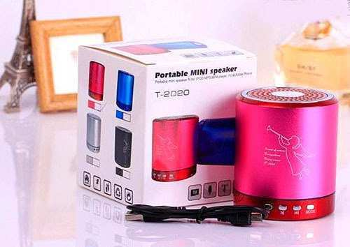 68 The Portable Mini Speaker T2020 Spy Shoot with Portable Mini Speaker T2020