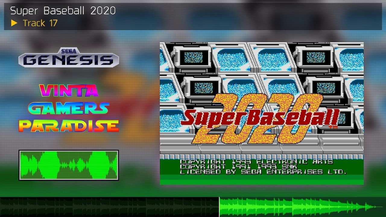 69 All New Super Baseball 2020 Sega Genesis Exterior and Interior with Super Baseball 2020 Sega Genesis