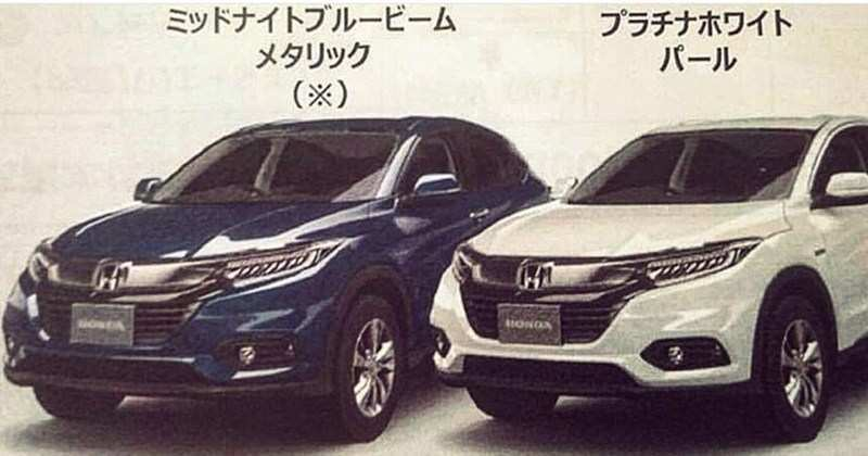 69 Best Review 2019 Honda Hrv Redesign Style for 2019 Honda Hrv Redesign