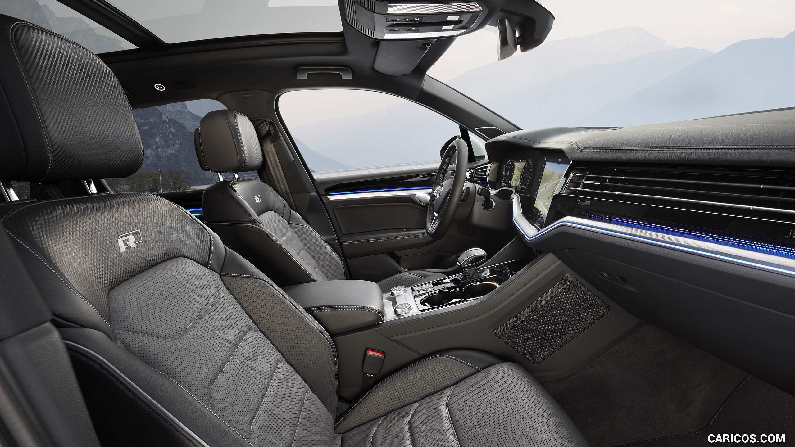 69 New 2019 Volkswagen Touareg Interior Spy Shoot by 2019 Volkswagen Touareg Interior