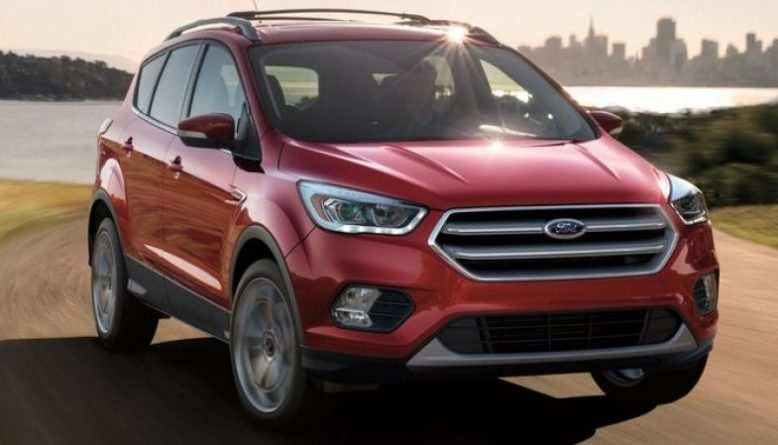 70 Best Review 2019 Ford Escape Release Date Redesign and Concept for 2019 Ford Escape Release Date