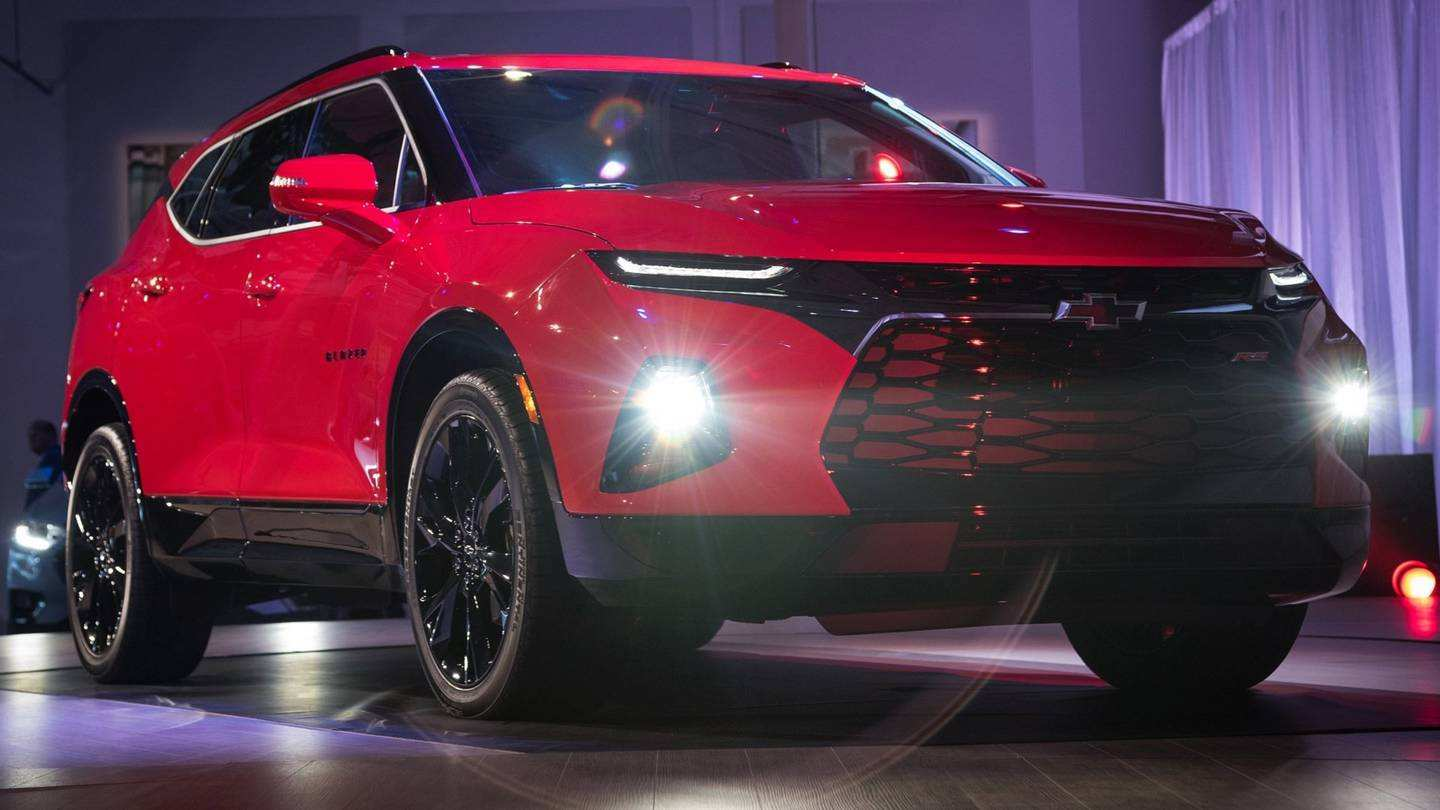70 Concept of 2019 Chevrolet Blazer Release Date Performance by 2019 Chevrolet Blazer Release Date